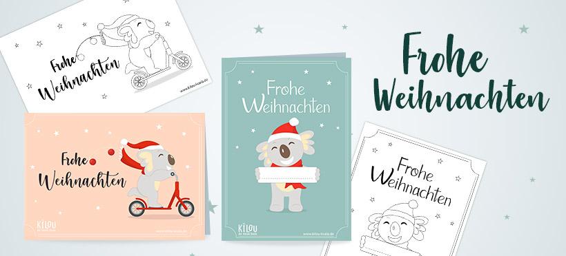 Karten zu Weihnachten!