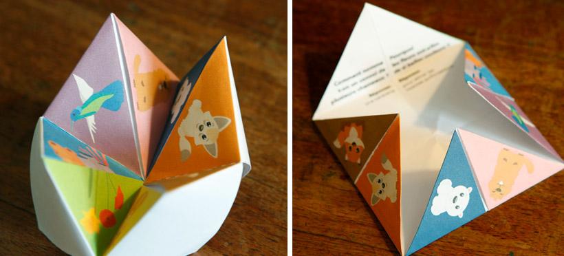 La cocotte en papier